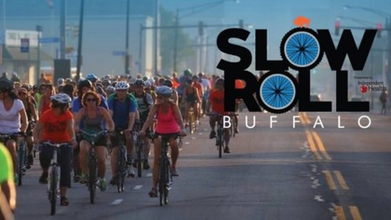 Slow Roll Buffalo to return on Monday with 'Reimagined Ride'