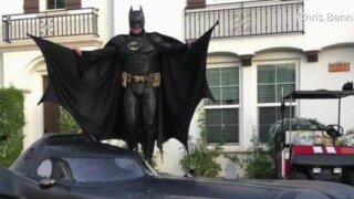 Batman hits the road to lift spirits during COVID-19 pandemic