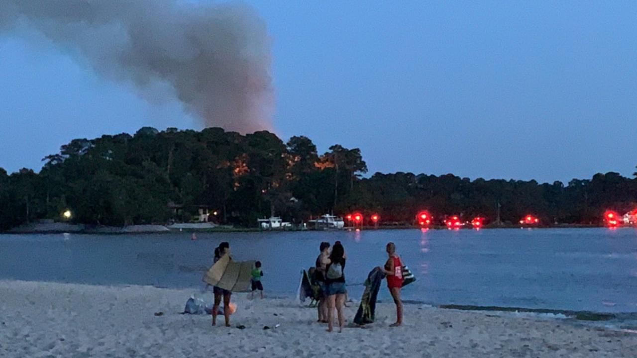VB fire near First Landing State Park (June 21)