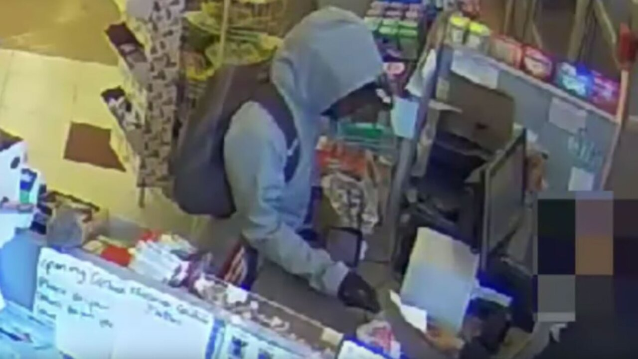 Man who robbed a pharmacy gave clerk a note that said, 'I'm sorry, I have a sick child,' cops say
