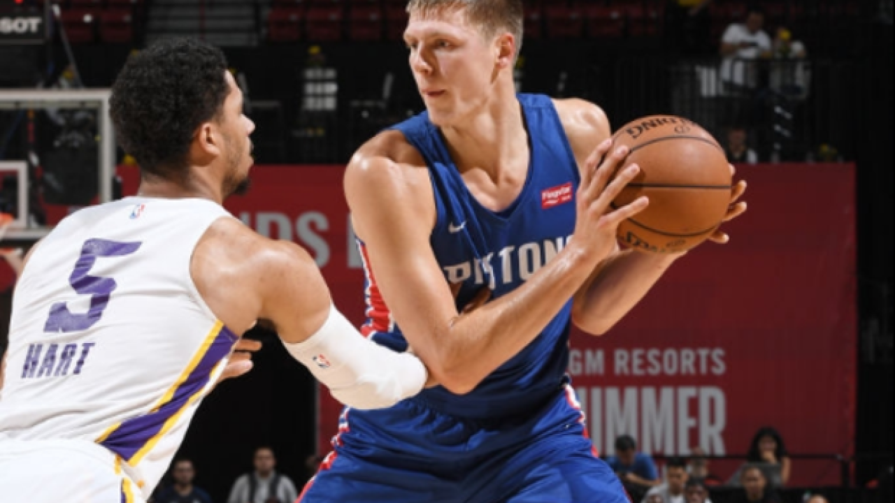 Pistons lose to Lakers in Summer League quarterfinals