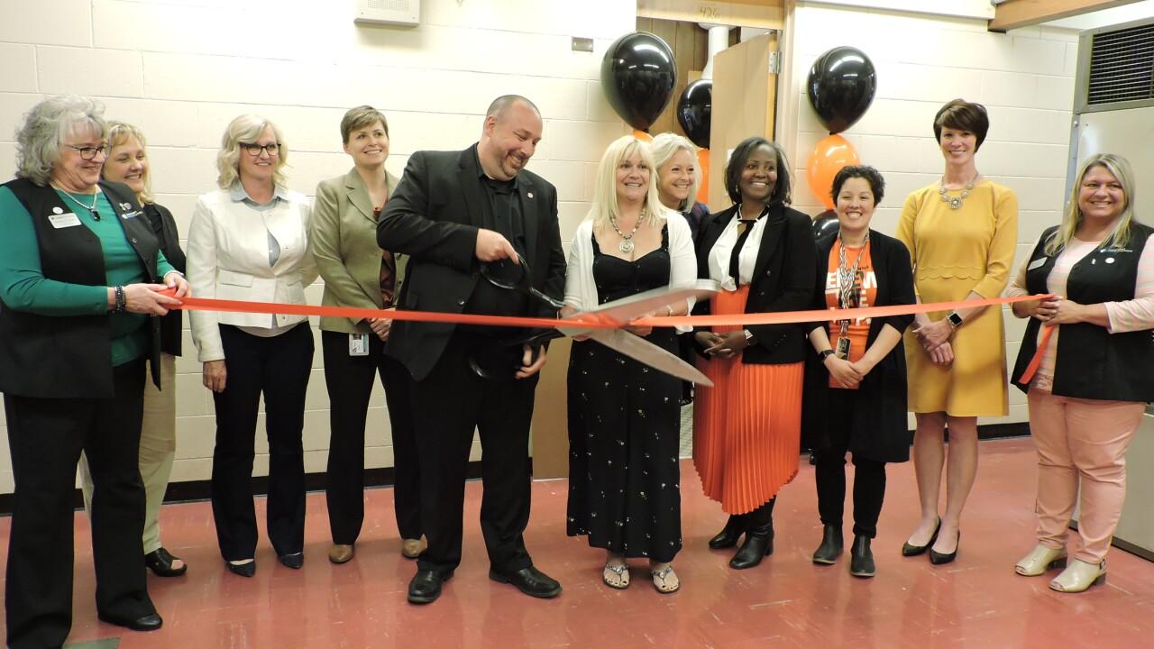 Jackson Public Schools Laundry Initiative Ribbon Cutting