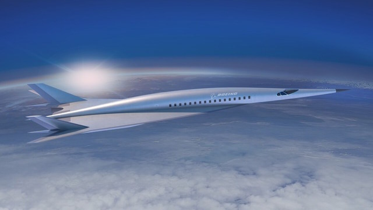 Boeing's hypersonic passenger plane could get you from New York to London in 2 hours