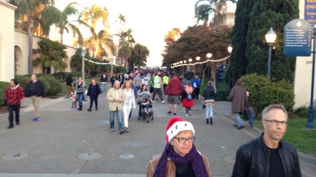 'December Nights' opens at Balboa Park