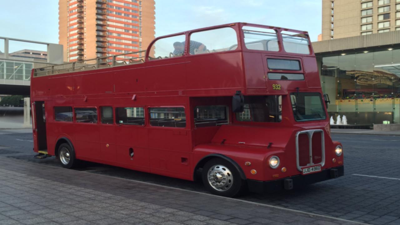 WATCH: Tour KC on a double decker bus
