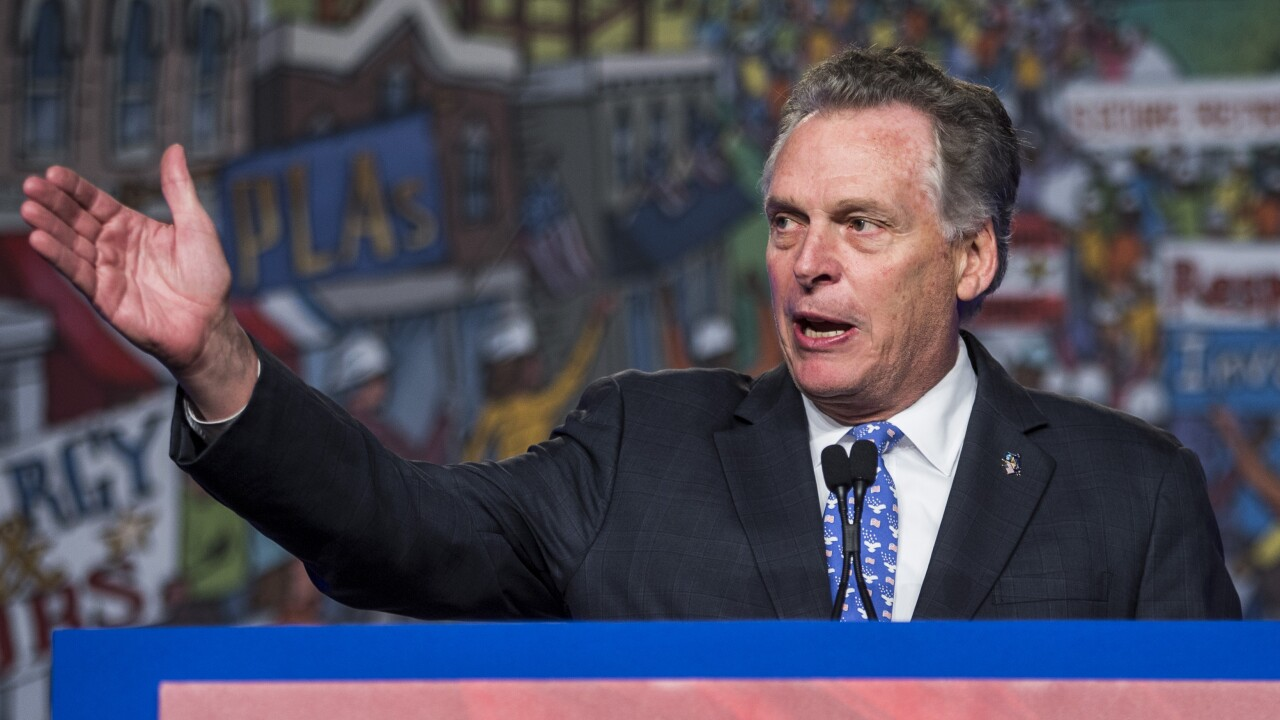 McAuliffe fuels speculation with Twitter post