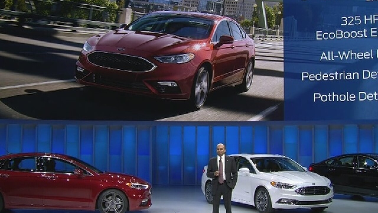 Ford reveals vehicles and FordPass at Auto Show