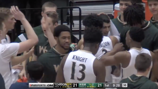 William & Mary men's basketball's second-half comeback falls short against Towson