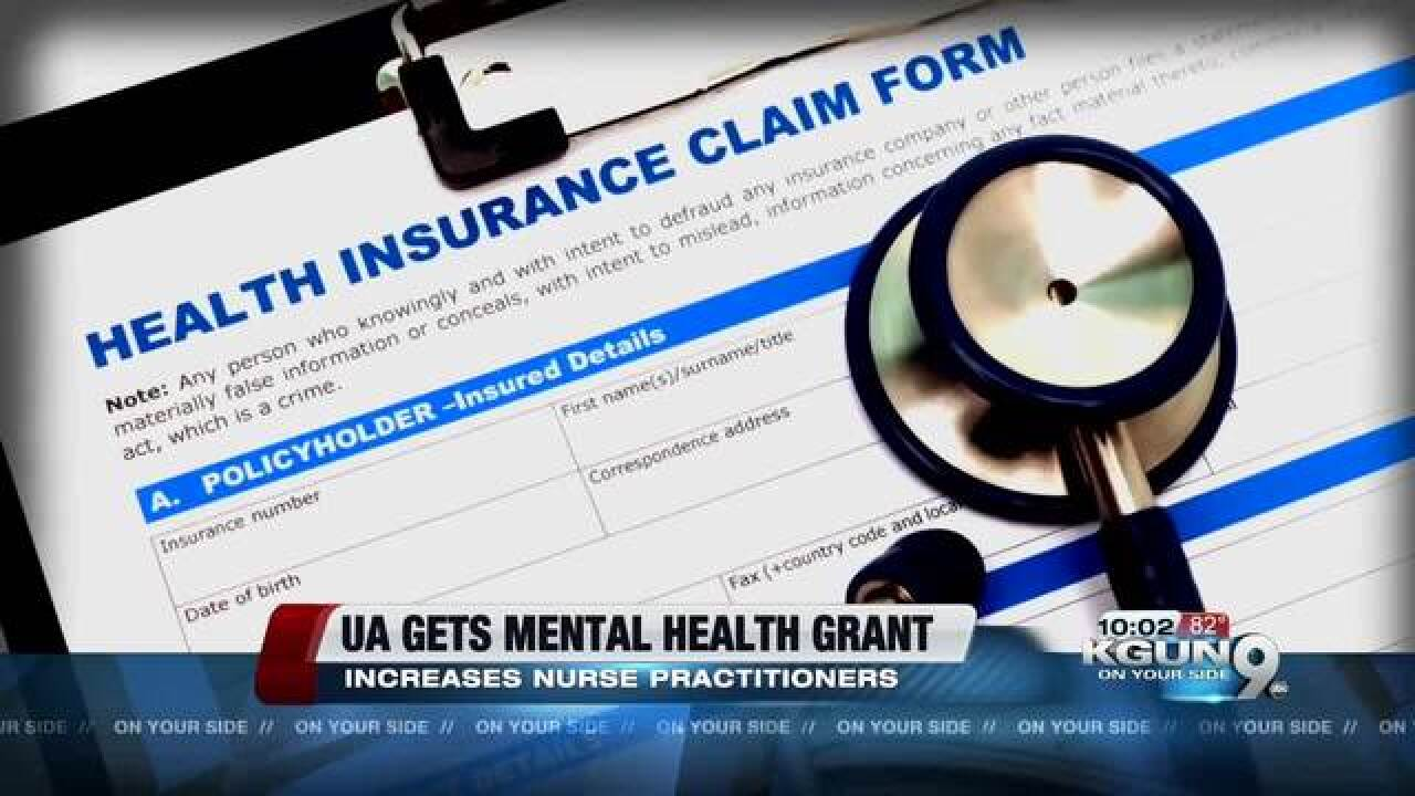 Grant could help UA improve mental health care