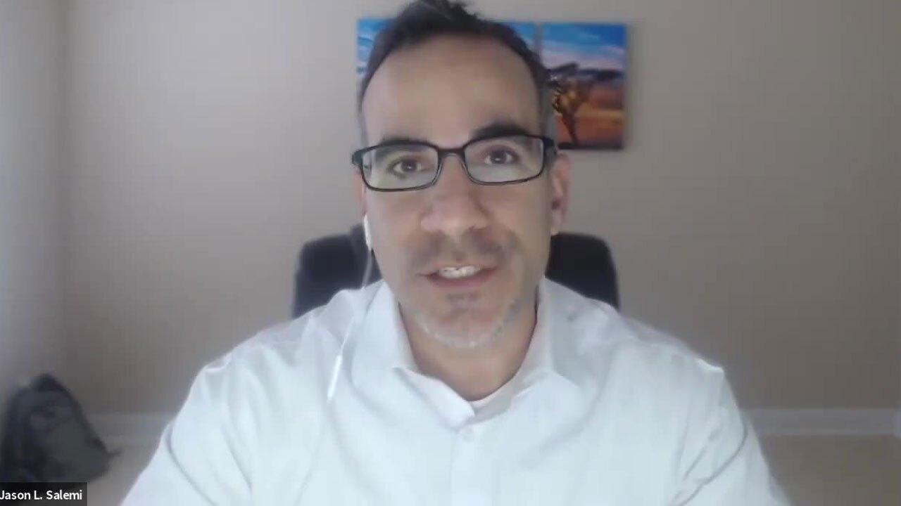 Epidemiologist Jason Salemi