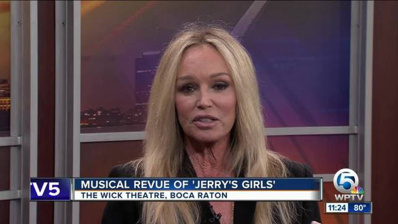 Susan Anton stars in 'Jerry's Girls' at the Wick Theatre in Boca Raton