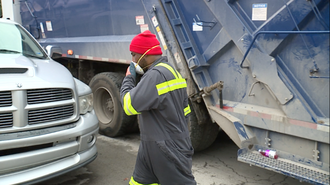 KCMO sanitation worker
