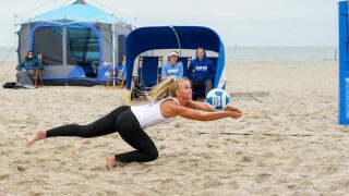 Texas A&M-Corpus Christi's new volleyball pavilion opens on Shoreline Boulevard