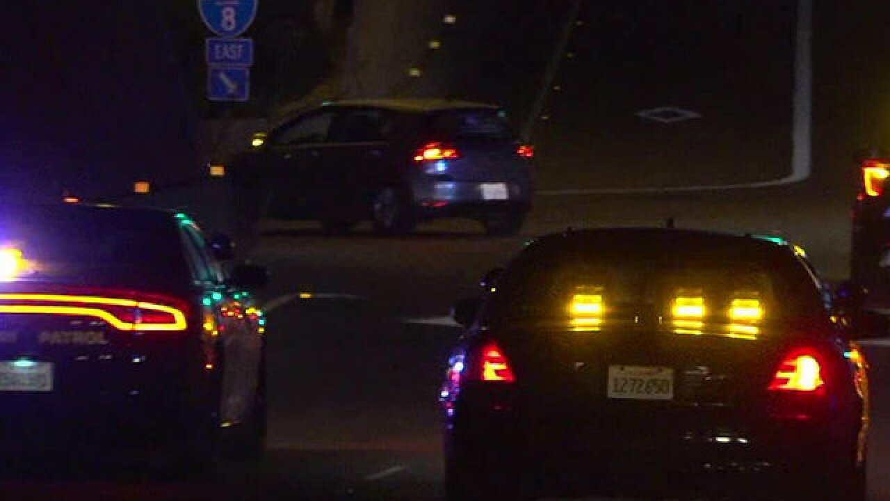 Passed-out driver wakes up, leads police pursuit