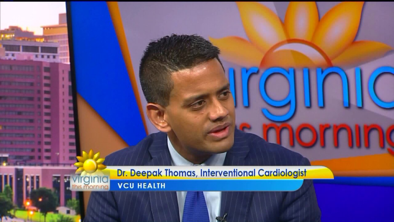 Dr. Deepak Thomas shares tips to stay heart healthy