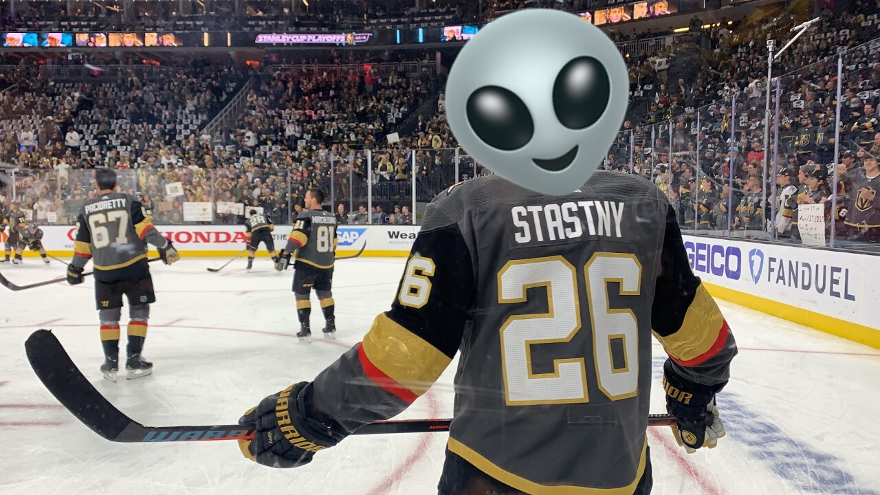 new style 49ac4 ee29d Dress like an alien and win a Golden Knights' Area 51 jersey