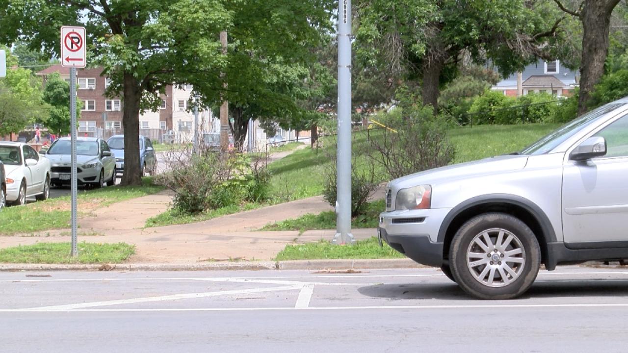 Armour Boulevard blindspots