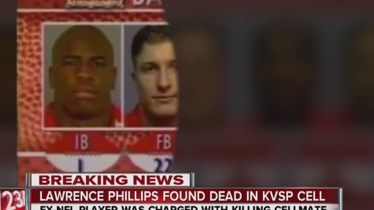 Former NFL RB Lawrence Phillips found dead