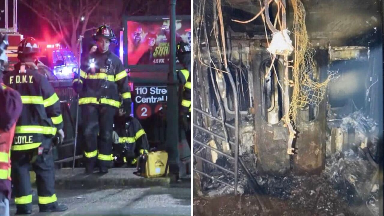 MTA worker killed in suspicious Harlem subway fire