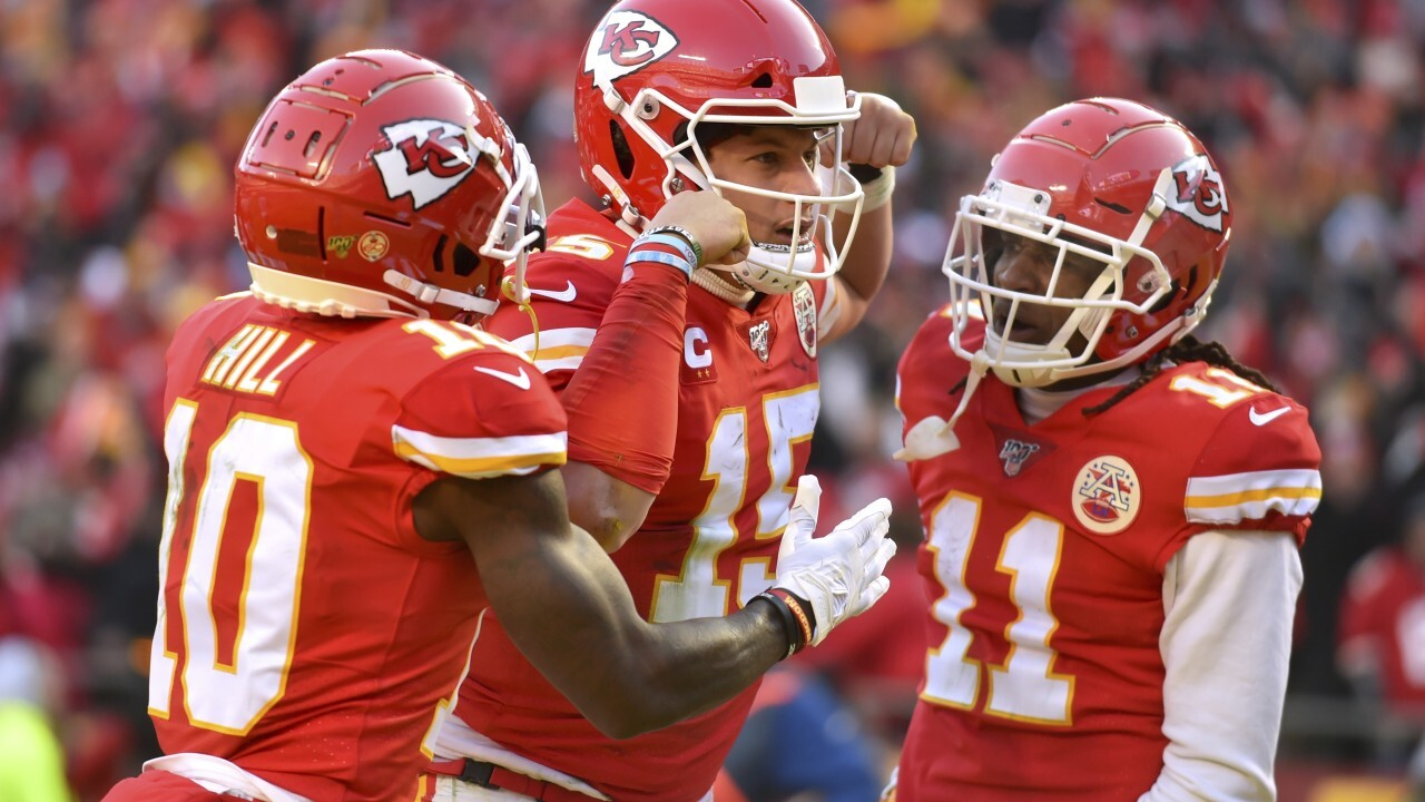 Chiefs punch ticket to 2020 Super Bowl