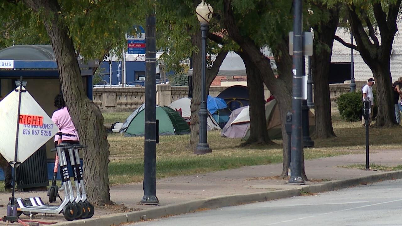 Washington Square Park Homeless Camp