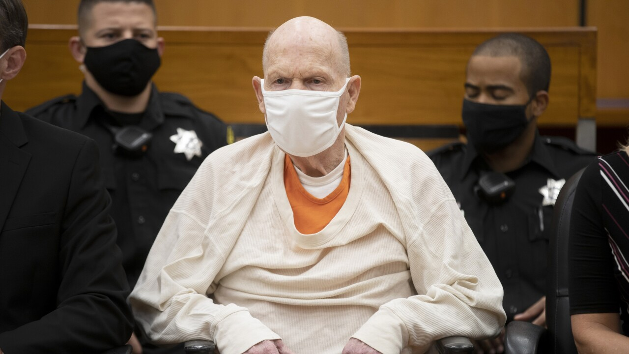 Golden State Killer sentenced to life in prison without parole