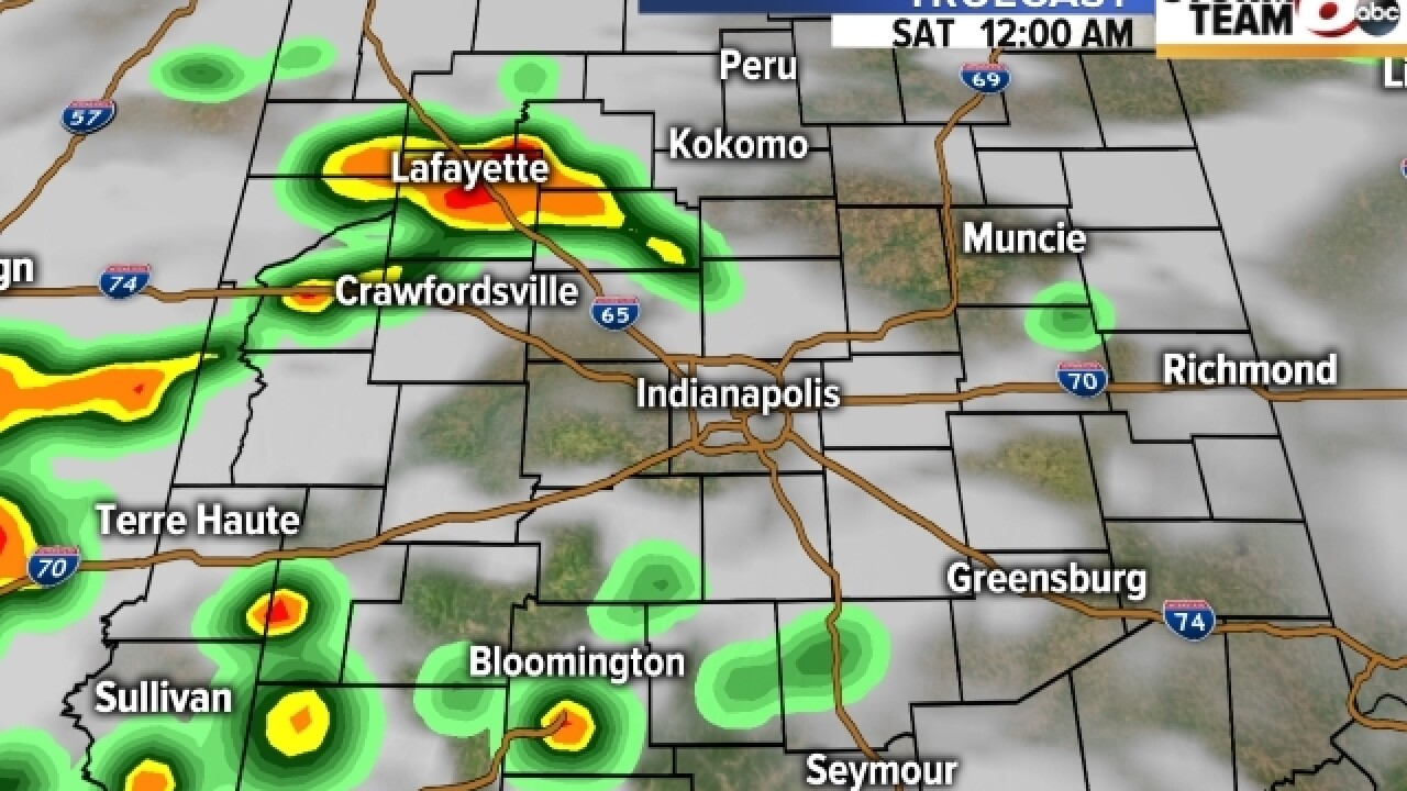 TIMELINE: Severe weather in your area