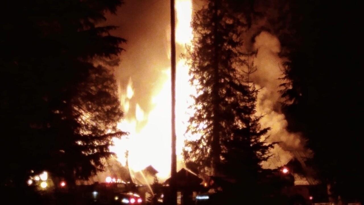 Noxon Fire