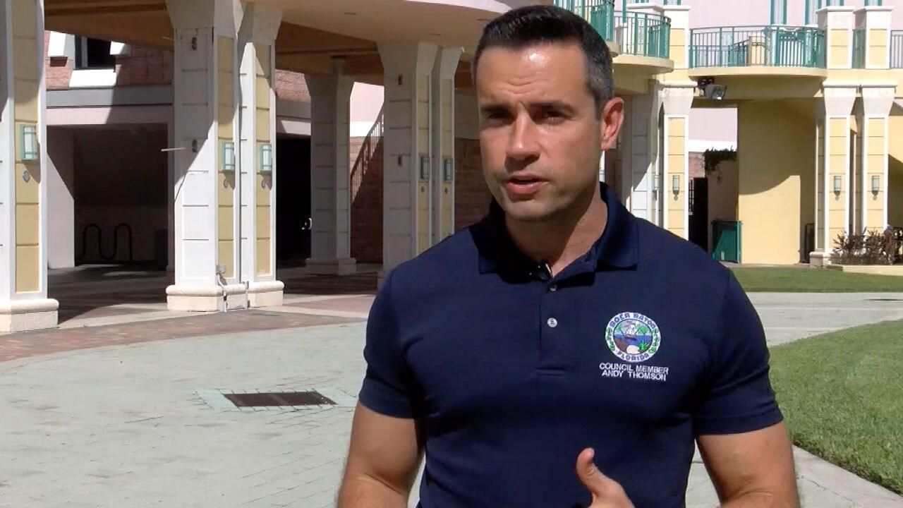 Boca Raton Councilman Andy Thomson