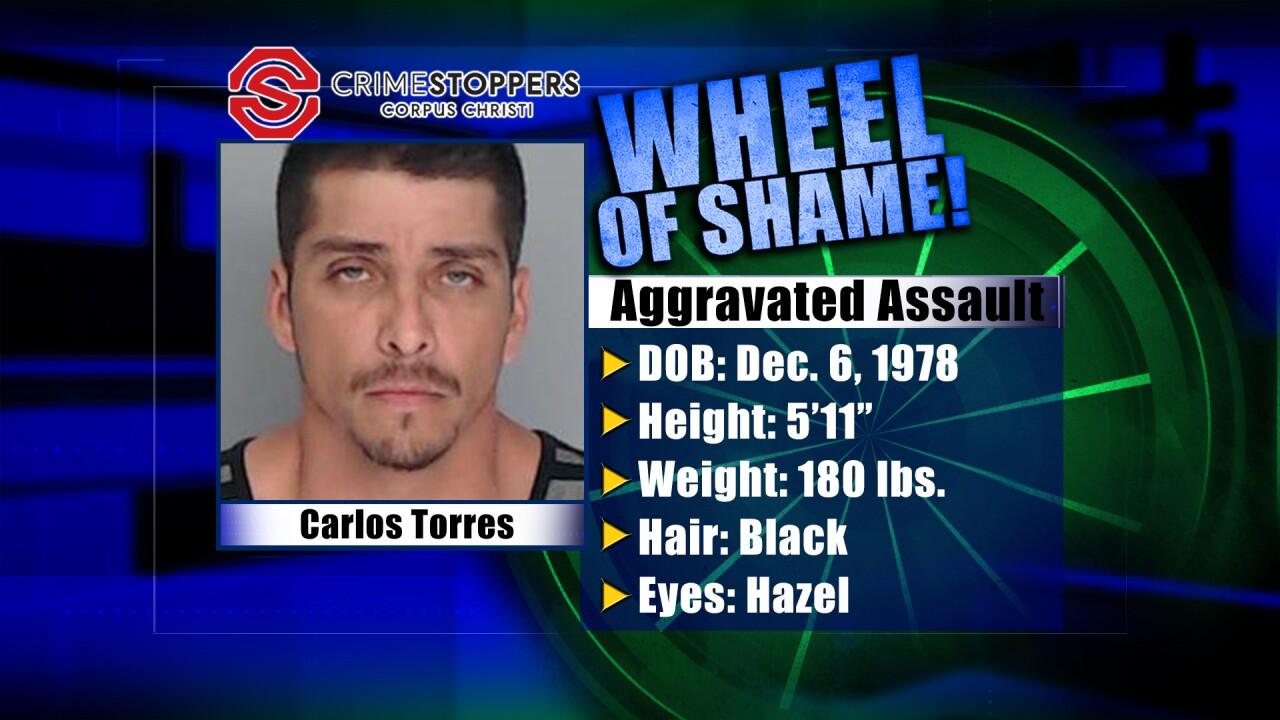 Wheel Of Shame Fugitive: Carlos Torres