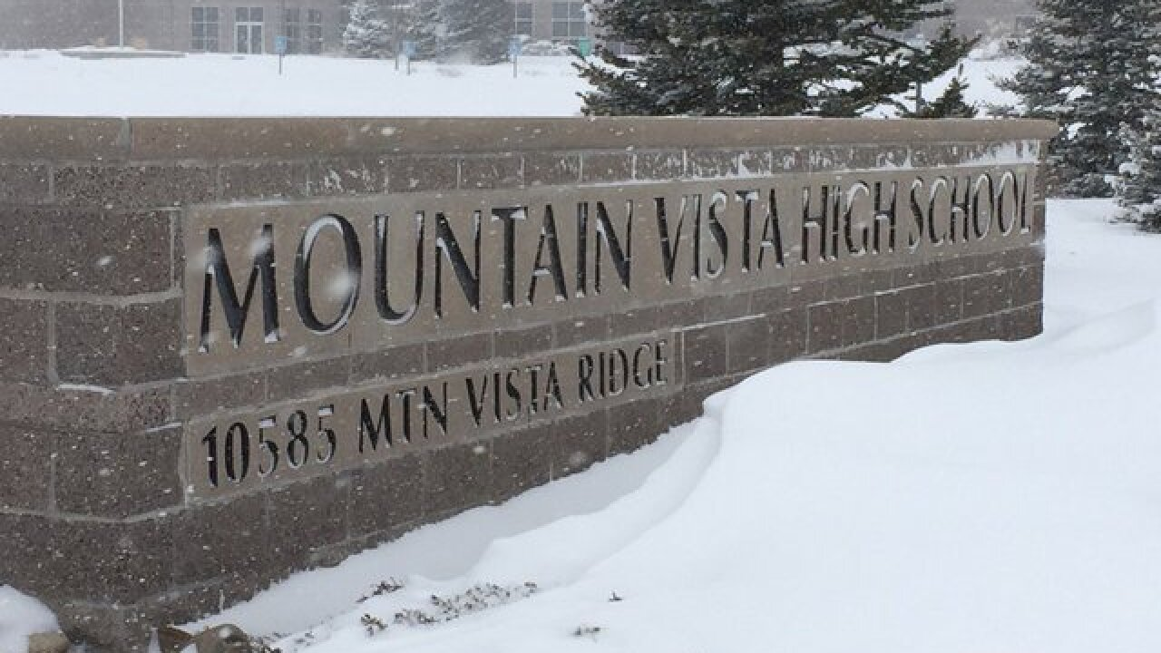 Mountain Vista High School student in Nazi jacket punched in the face by black student