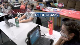Hybrid learning in Lauffer Middle School