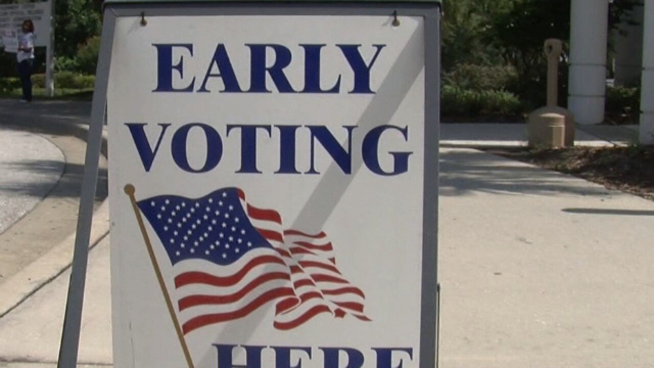 EARLY VOTING: General Election dates & times