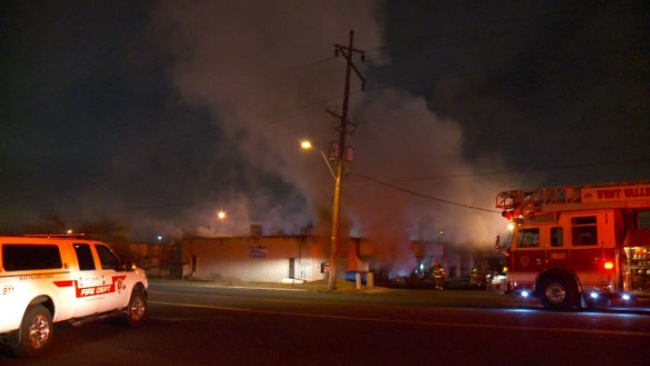 Early morning blaze causes thousands of dollars in damage at WVC industrial building