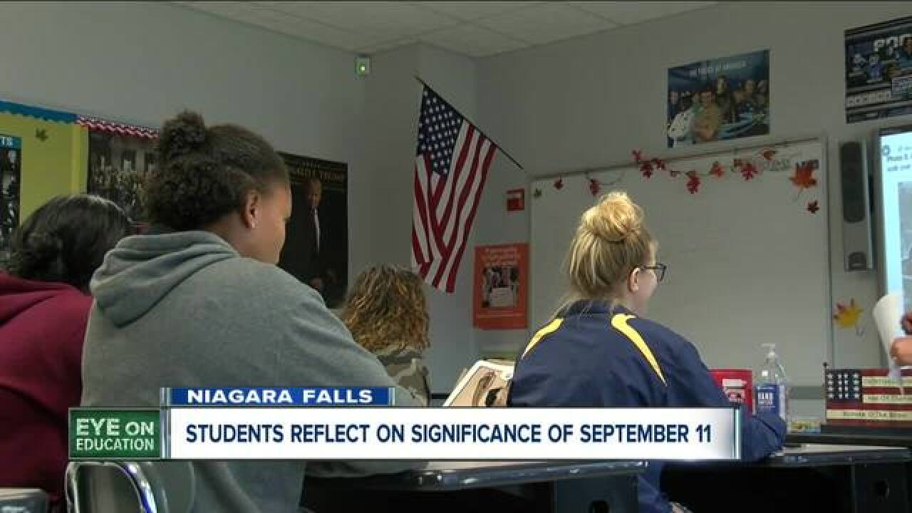 WNY high schoolers reflect on 9/11