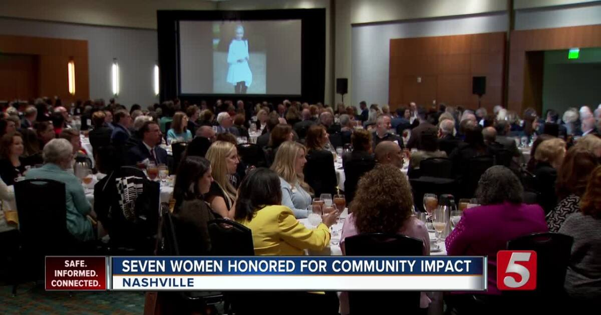7 women honored for community impact