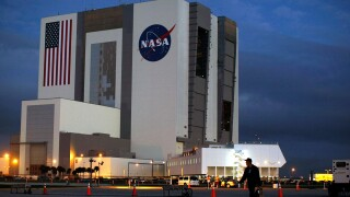 NASA Prepares To Launch Space Shuttle Atlantis