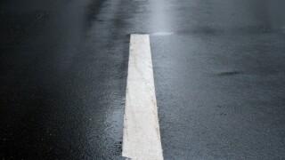 wet road accident crash