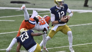 Syracuse Notre Dame Football