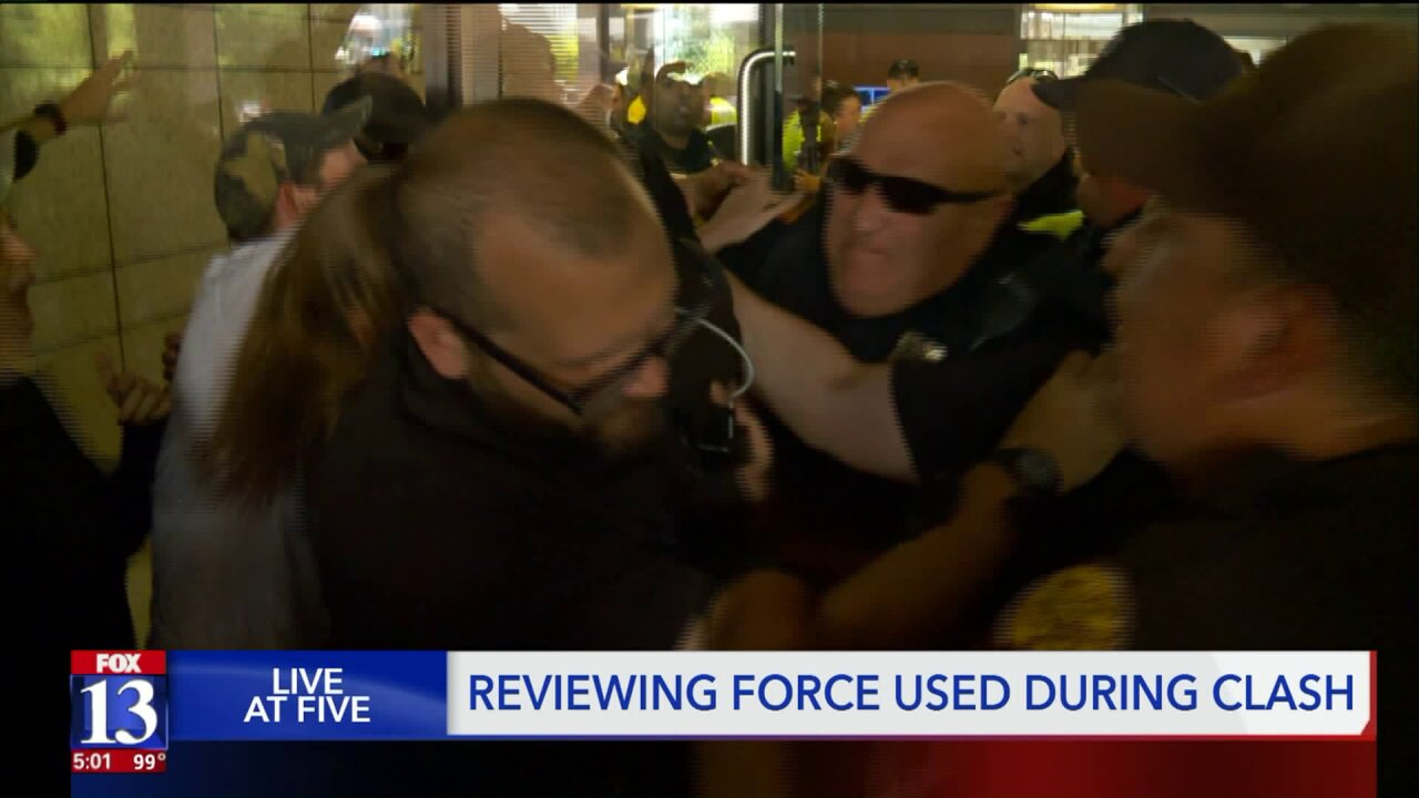 'That's excessive force': outside attorney reviews SLC police-protester clash footage