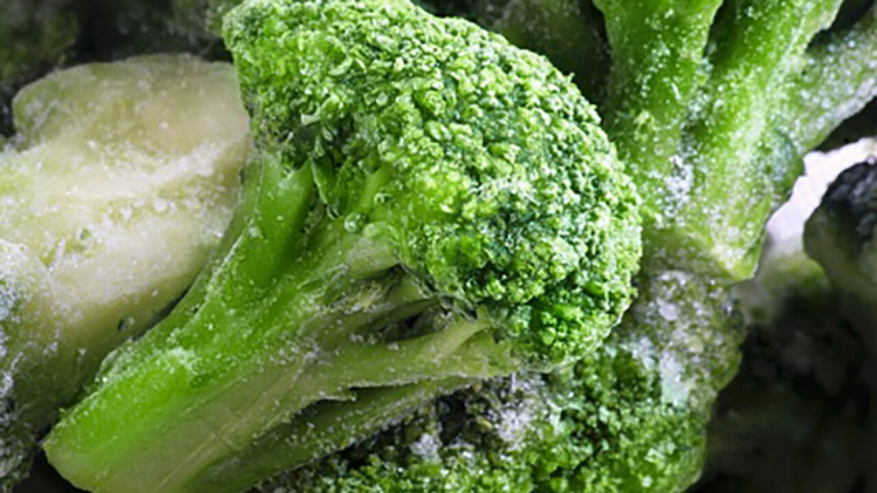 Frozen broccoli recalled by Giant Foods