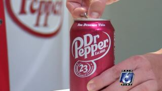 Dr-Pepper-shortage-traced-aluminum-can