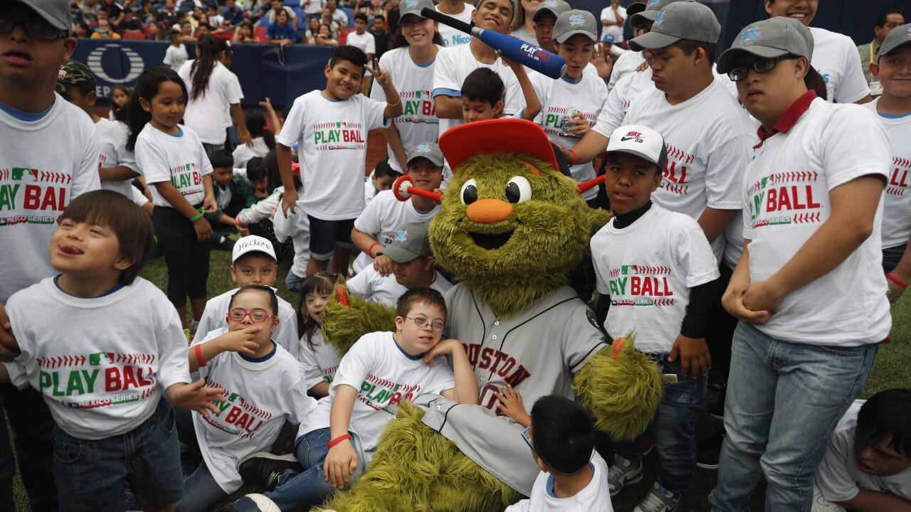Mexico Angels Astros Baseball