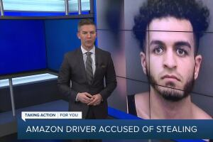 Amazon driver arrested for stealing packages in Hillsborough Co.