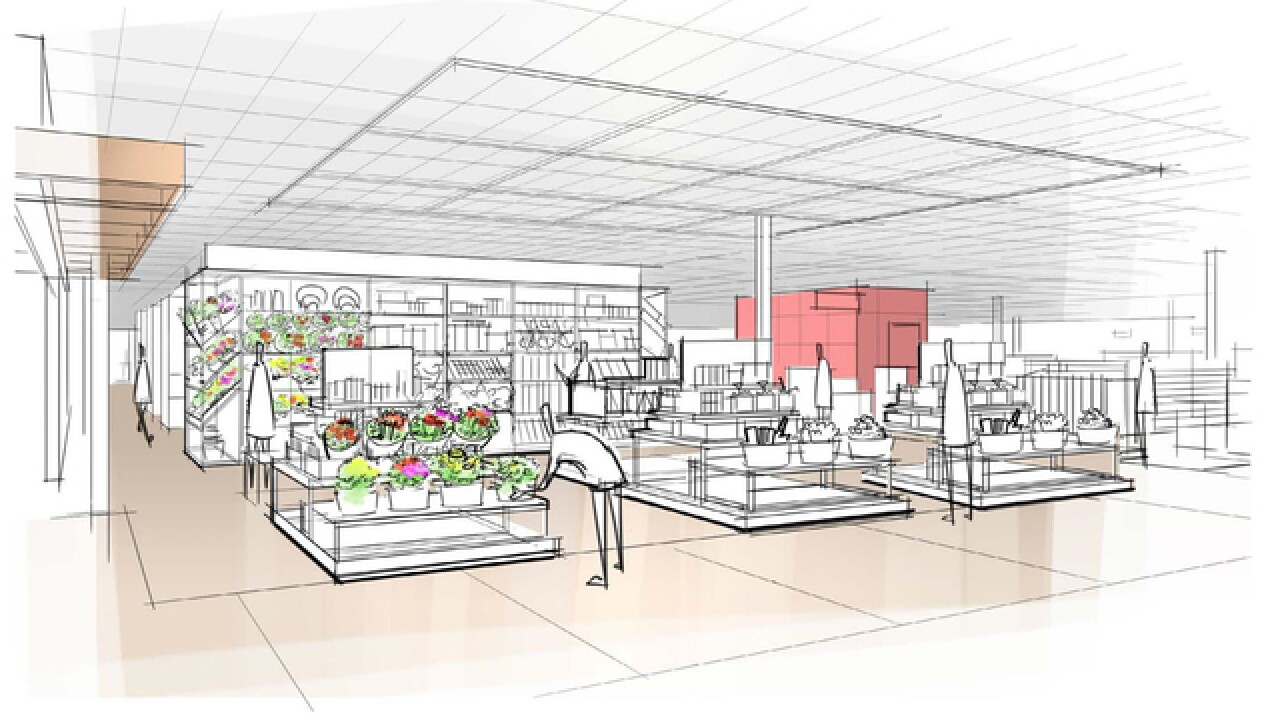 Target unveils a complete redesign of its stores