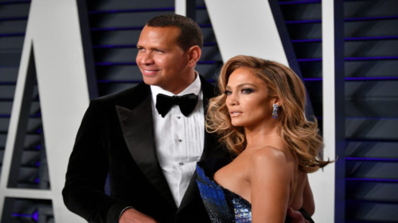 Jennifer Lopez And Alex Rodriguez Held 'spring Training' In Their Backyard