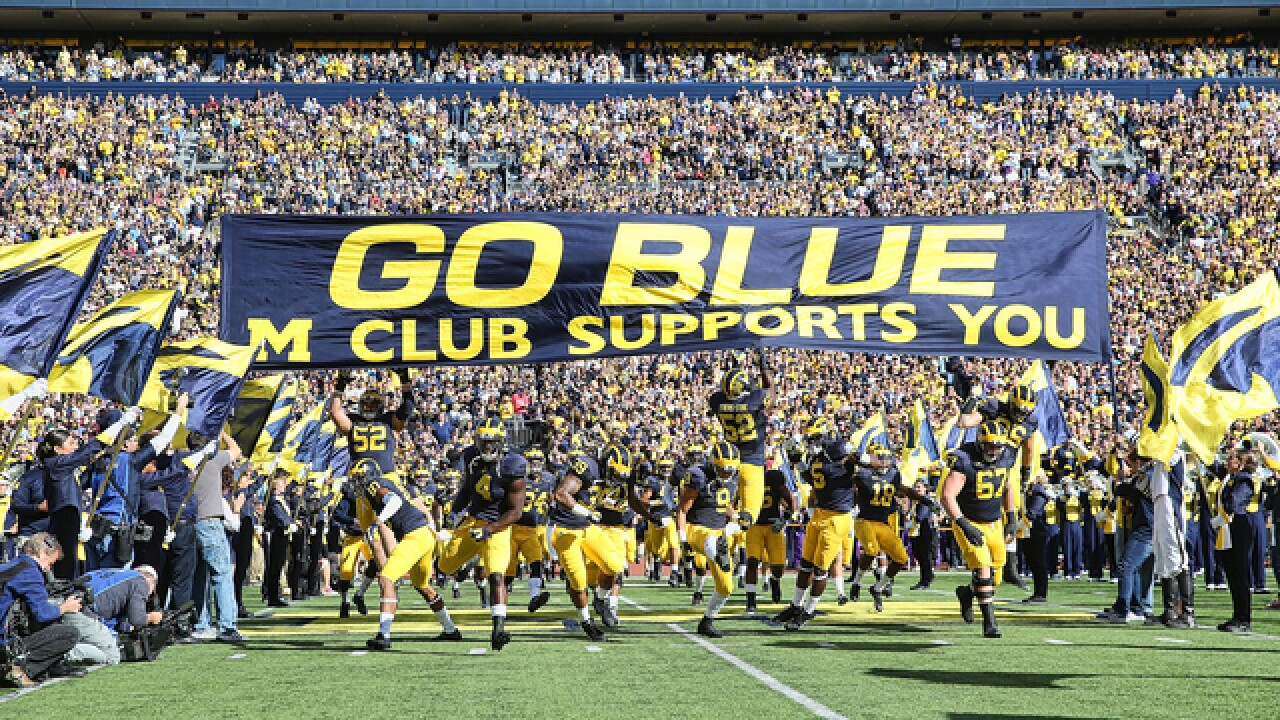 Michigan the third-most valuable college football team in the country