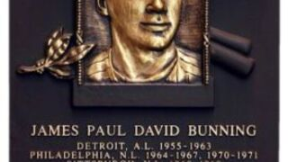 Jim Bunning: Fifty years ago, perfect game stamped his Hall of Fame ticket