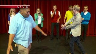 Real life Pitch Perfect at Cool School of the Week Remix Vocal Academy