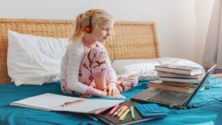 School District Is Banning Students From Wearing PJs To Online Classes